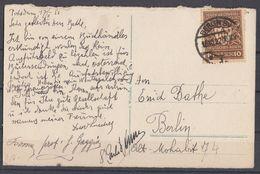 DR AK EF Minr.203 Berlin 18.10.22 - Briefe U. Dokumente