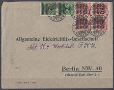 DR Brief Mif Minr.4x 295, 2x 310 Königsberg 13.10.23 - Deutschland