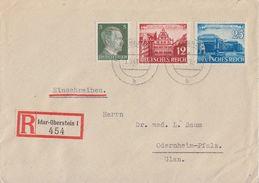 DR R-Brief Mif Minr.784,766,767 Idar-Oberstein 1.9.41 - Brieven En Documenten