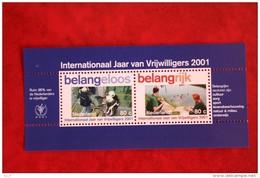 Blok Belangeloos NVPH 1968 (Mi Block 69) 2001 POSTFRIS / MNH  NEDERLAND / NETHERLANDS - Unused Stamps