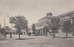 Bayern Privat-GS Minr.PP15 Ausstellung München 1908 Halle 3 Gelaufen - Bayern