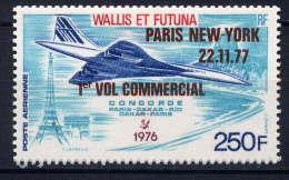 WF - A75** - 1er VOL COMMERCIAL DE CONCORDE - Airmail