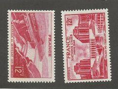 FRANCE - N°YT 817/18 NEUFS** SANS CHARNIERE - COTE YT : 1.65€ - 1948 - France