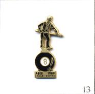 PIN'S Sport - Billard / ABEE 1989 - Etoile / Eschau (67). Non Estampillé. EGF. T543-13 - Billiards