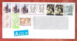 Luftpost, MiF Tag Der Briefmarke U.a., Ab Liege 2017 (42581) - Briefe U. Dokumente