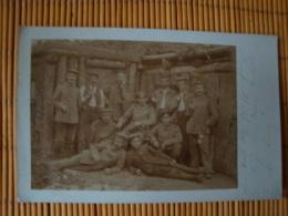 Fotokarte 1. WK., K. Pr. Landwehr Infanterie Regiment 83, Gelaufen 1916 - Weltkrieg 1914-18