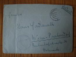 Feldpostbrief 2. WK. Mit Inhalt, Abs. Flieger Ausbildungsregiment 43, Rückseitig Mit Luftwaffenvignette ! - Briefe U. Dokumente