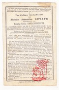 DP Fidelis A. Butaye ° Stavele Alveringem 1822 † WestVleteren Vleteren 1880 X Rosalie VandenBroucke - Devotion Images