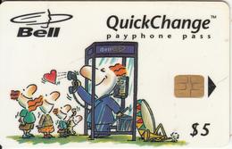 CANADA - Bell Telecard $5, 04/97, Used - Canada