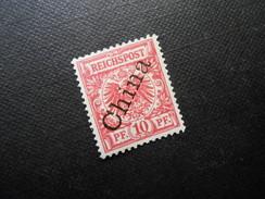 D.R.3 La   10Pf*  Deutsche Auslandpostämter (CHINA) 1898/01 - Mi 40,00 - Offices: China