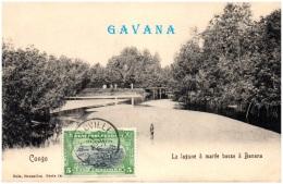 CONGO BELGE - La Lagune à Marée Basse à BANANA - Belgisch-Congo - Varia