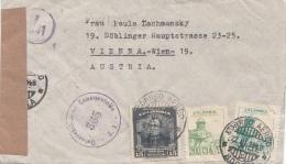 ZENSUR Brief Colombia 1948 Gel.v. Bogata N. Vienna - Colombia