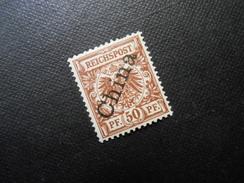 D.R. 6 L   50Pf*  Deutsche Auslandpostämter (CHINA) 1898/01 - Mi 26,00 € - Offices: China