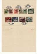 1938 01 TESCHEN 1 CIESZYN - POCZTA POLSKA STAMPS - COMANDO CIRCOLO TERRITORIALE KARWIN - 1919-1939 Repubblica