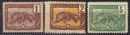 Congo N° 27, 28, 30 * - Französisch-Kongo (1891-1960)