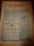 1904 Les ANNALES P&L:Petits Pêcheurs(îles Glénan,Les Groisillons);Procès Terre-Neuviens;Vendée Et Clotilde D'Alvarey;etc - Newspapers