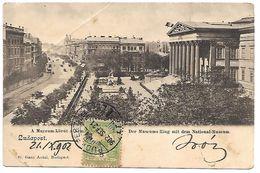 HONGRIE - BUDAPEST - A Muzeum-Korut - Hongrie