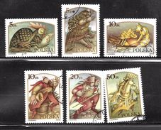 Poland 1986 SC# 2760-2765 - Used Stamps