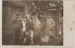 WAREMME 1915  Souvenir De La Campagne. Carte-Photo - Waremme