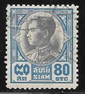 Thailand, Scott # 214 Used King Pradjadhipok, 1928 - Thailand