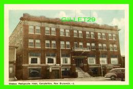 CAMPBELTON, NEW BRUNSWICK - CHATEAU RESTIGOUCHE HOTEL - BARBER - OLS CAR - PECO - - Nouveau-Brunswick
