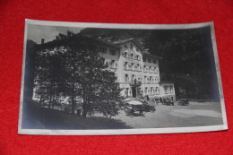 Gressoney La Trinité Aosta Hotel Miravalle Con Auto Rppc  NV - Italie