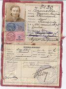 CARTE D'IDENTITE N° 5130 TOULON VAR - Mapas