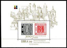 BRD - Michel Block 46 = 2041 - ** Postfrisch - 300+110Pf  IBRA 99 - [7] West-Duitsland