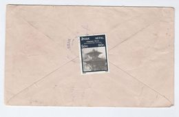 NEPAL COVER Manakamana Hindu Temple Stamps Religion - Nepal