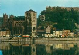 CPM - HUY - La Meuse Et La Collégiale - Huy