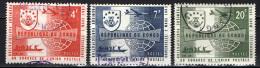 CONGO - 1963 - PRIMA PARTECIPAZIONE DEL CONGO AL CONGRESSO DELL'UPU - USATI - République Du Congo (1960-64)