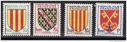 FRANCE 1955 - SERIE Y.T. N° 1044 A 1047 - 4 TP NEUFS** - France