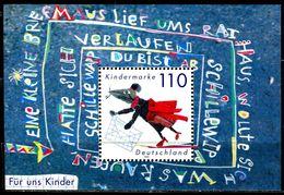 BRD - Michel Block 51 = 2072 - ** Postfrisch - 110Pf  Für Uns Kinder 99 - [7] West-Duitsland