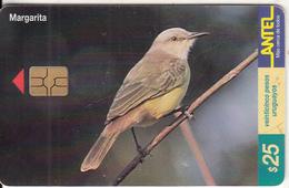 URUGUAY - Bird, Margarita(131a), 08/00, Used - Uruguay
