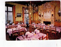 Cpm 21 Pouilly En Auxois - Hotel Restaurant Du Chateau - A Bourgeois - France