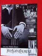 LIVE JAZZ   YVES SAINT LAURENT - Modern (from 1961)