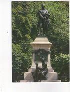 Cpm 71 Le Creusot - Place Schneider - Statue Eugene 1er Schneider - Le Creusot