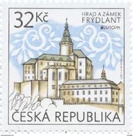 Czech Republic - 2017 - Europa CEPT - Castles - Frydlant Castle And Chateau - Mint Stamp - Czech Republic