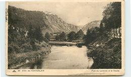 25 -Env PONTARLIER - Fort Du Larmont Et Le Doubs - France
