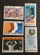 Cypress - MNH** - 1985 - # 657/661 - Cyprus (Republic)