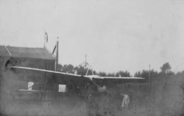 62 AVIATION AVION Terrain Aérodrome Monoplan Type BLERIOT Photographe P. DELEBARRE à Aire Sur La Lys - Reproductions