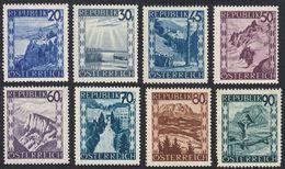 AUSTRIA -  OSTERREICH - 1945/1947 - Lotto Di 8 Francobolli Nuovi MH E/o Senza Gomma (vedere Descrizione) - 1945-.... 2a Repubblica