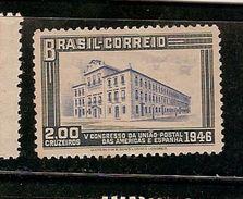 Brazil ** & V Congress Of The Postal Union Of The Americas And Spain, Rio De Janeiro 1946 (445) - Post