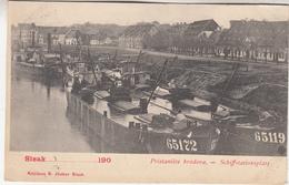 Sisak - Pristaniste Brodova  - Schiffstationsplatz - 1902 - Knjizara S. Junker, Sisak - Kroatië