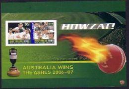 Australia IMPERF Sheetlet - Cricket - Cricket