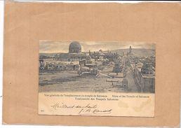 ISRAEL - CPA DOS SIMPLE - Vue Générale De L'emplacement Du Temple De Salomon - BERG1 - - Israel