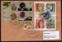Argentina - 2009 - Lettre - Vins Et Tourisme - Briefe U. Dokumente