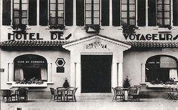 D40 - VILLENEUVE-de-MARSAN < HOTEL DES VOYAGEURS Jean DARROZE (+pub Verso) - Frankrijk