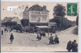 MONTEREAU- L HOTEL DE LYON- ON Y BOIT DE LA BIERE GRUBER - Montereau