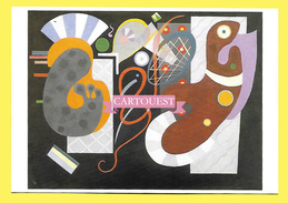Vassily Kandinsky NOEUD ROUGE 1936 - Peintures & Tableaux